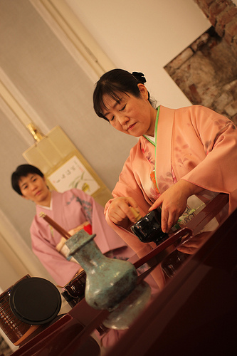 the Motivation for a Japanese Tea Ceremony