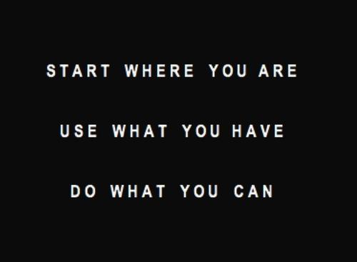 Start. Use. Do.