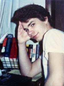 1988: So proud of my ELECTRONIC TYPEWRITER!