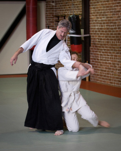 Aikido takes force and channels it productively
