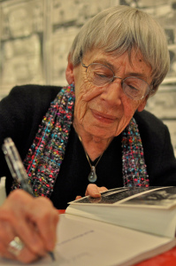 Image of Ursula Leguin courtesy of K. Kimball