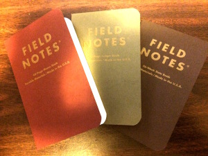Field Notes Notebooks Ambition Edition
