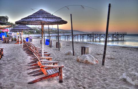 Paradise Cove Cafe in Malibu, CA